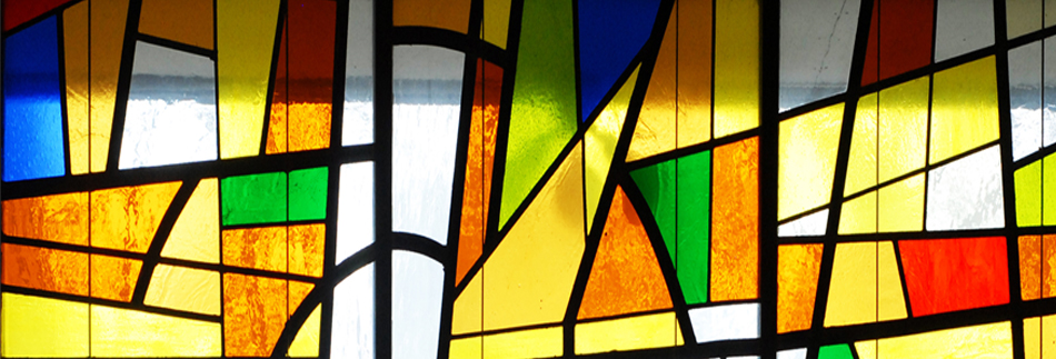 STAINED GLASS WEB BANNER